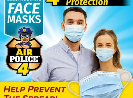 Air Police 4 Face Mask - USA Based Company