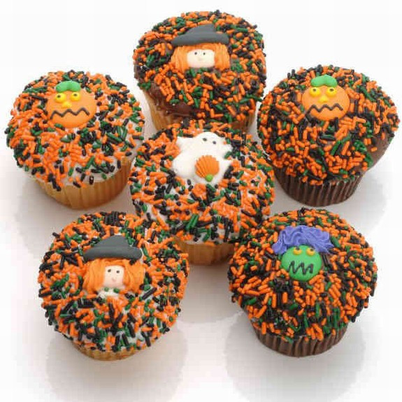 Halloween Cupcake Delivery