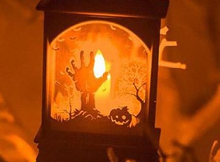 Halloween Decoration Bar LED Candle Lantern