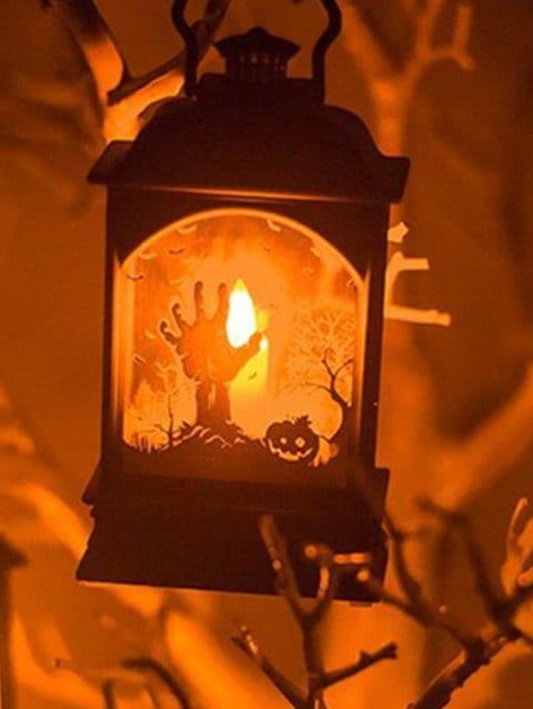 Halloween LED Candle Lanterns