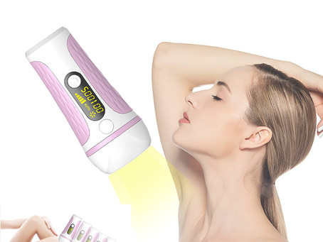 500000 Pulses Laser IPL Epilator Permanent Hair Removal Machine Face And Body Home Skin Rejuvenation