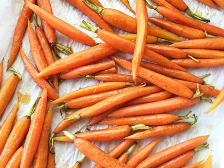 Baby Peeled Carrots - Avg 5 Lb Bag