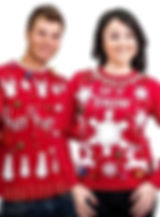 LED lighted Christmas Sweaters
