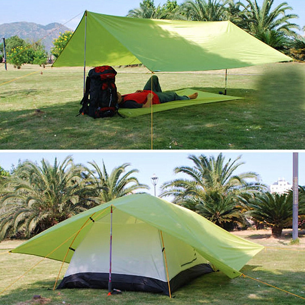 IPRee™ 250x150CM Portable Camping Tent Sunshade Outdoor ...