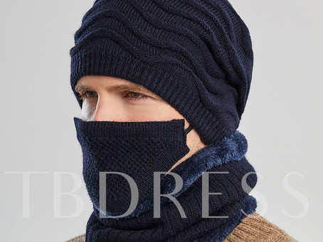 Woolen Yarn Euromerican Plain Scarves