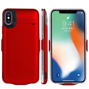 Battery Charger Case Power Bank for iPhone X