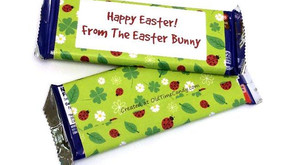 Personalized Candy Bars for Easter (10 bars)
