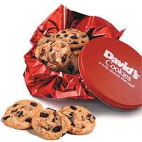 1Lb Tin Of Fresh Baked Cookies