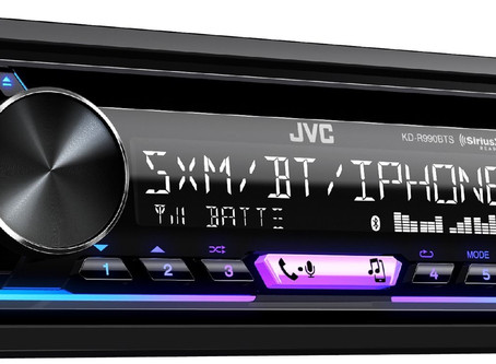 JVC KD-R990BTS CD Receiver with Bluetooth and SiriusXM Ready