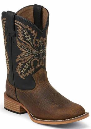 Kid's Justin Olton Bent Rail® Boots 380JR