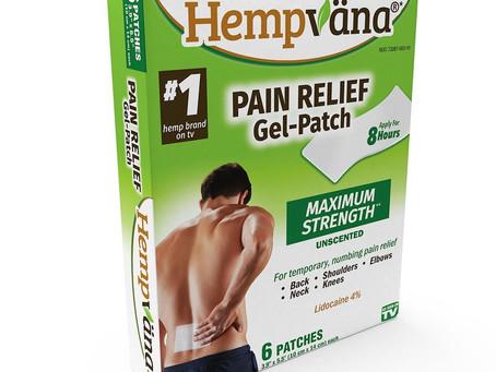 Hempvana Pain Relief Gel Patch