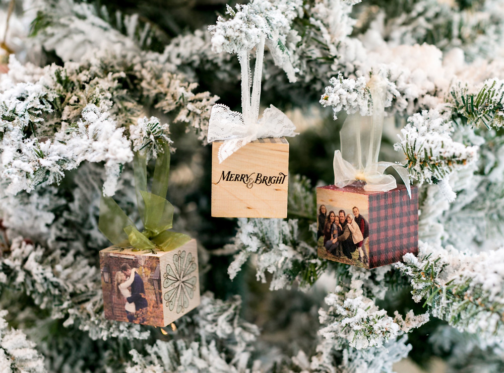 Discount Photo Block Ornaments