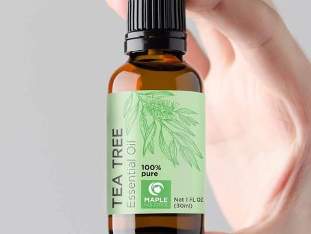 Tea Tree Essential Oil with Antifungal Antibacterial Benefits