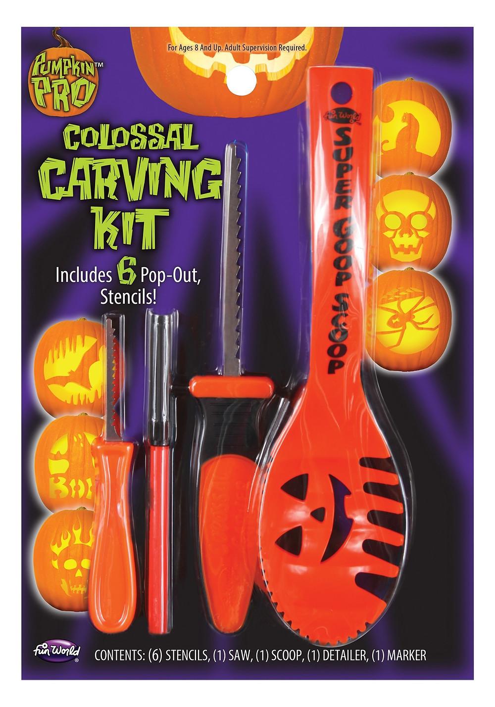 Discount Pumpkin Carving Kits
