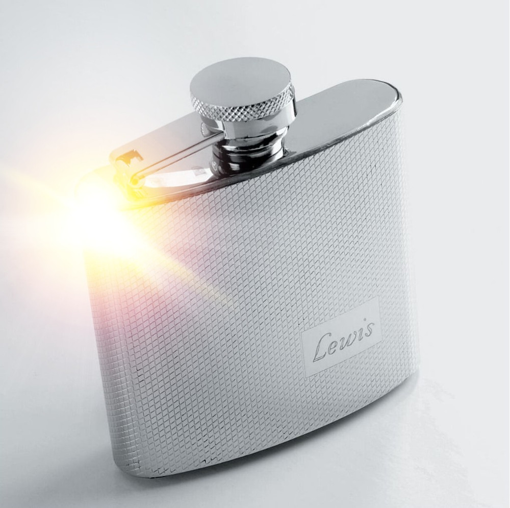 Personalized 4 Once Stainless Steel Flask