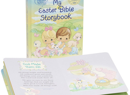 My Easter Bible Storybook, Padded Board Book
