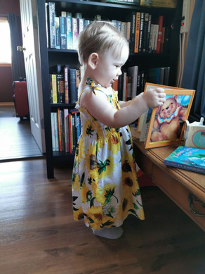 Baby Sunflower Strappy Dresses