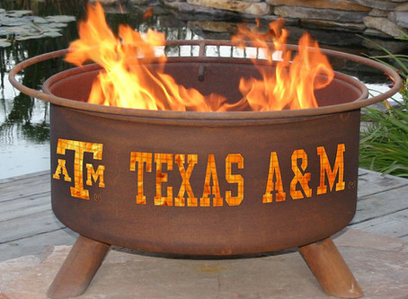 Steel Texas A&M Fire Pit