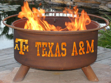 Steel Texas A&M Fire Pit