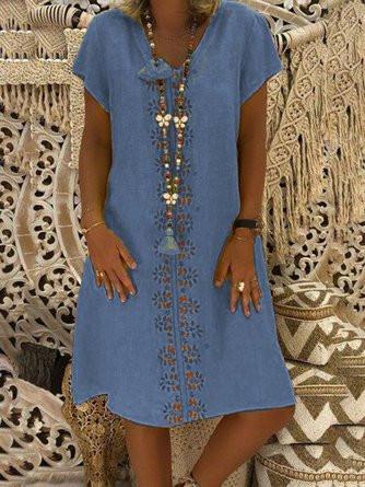 Discount Cotton Blend Dresses