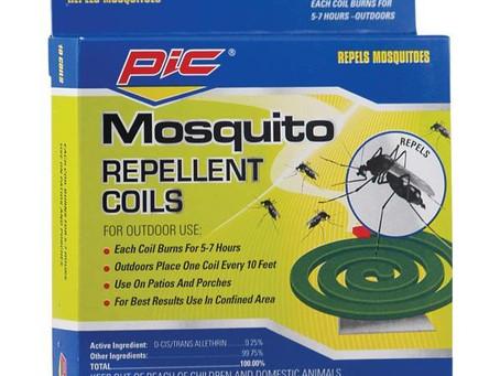 PIC C-10-12 Mosquito Repellent Coils, 10 pk
