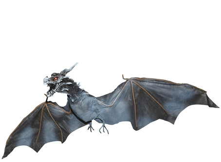 Animated Flying Dragon Prop