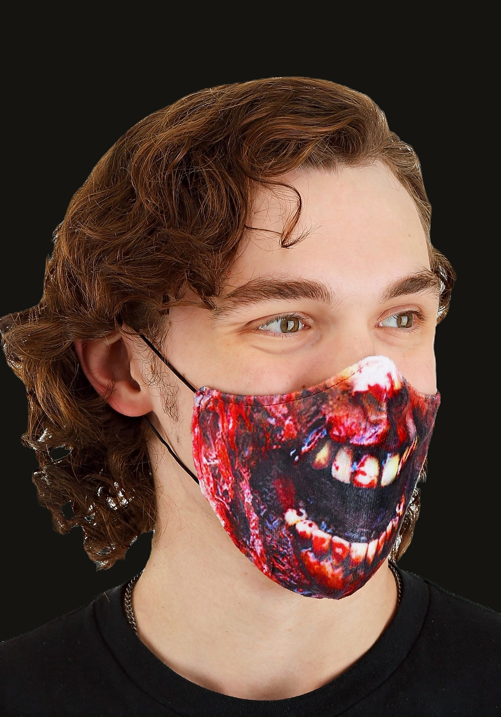 Sublimated Face Mask For Halloween
