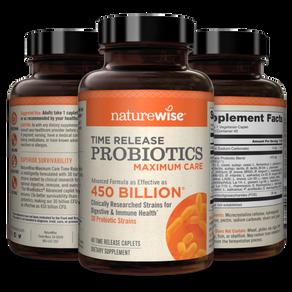Max Care Probiotics With WiseBiotics