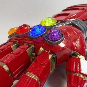 Avengers Endgame Marvel Legends Thanos Gauntlet
