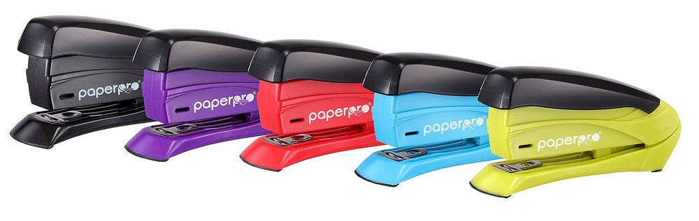 Assorted Colored Staplers