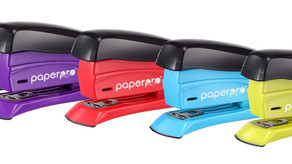inSPIRE™ 15 Compact Stapler, Assorted Colors