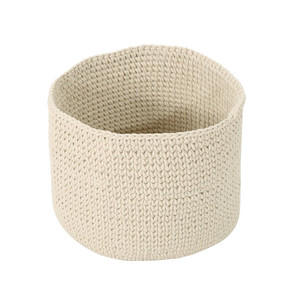 Moore Knitted Cotton Sundries Basket