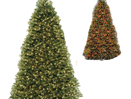 Dunhill Full Fir Tree With Dual Color LEDs