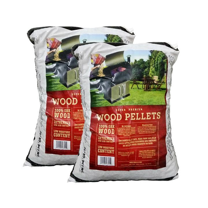 2 BAGS OF WOOD PELLETS - 40 LBS