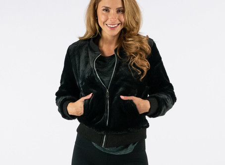 True Rock Women's Faux Fur Full Zip Jacket