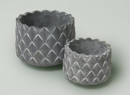 Abstract Cement Planter