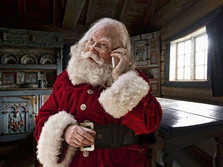 Bring joy with a magical message from Santa