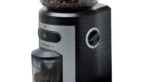 Espressione Conical Burr Coffee Grinder Black Silver