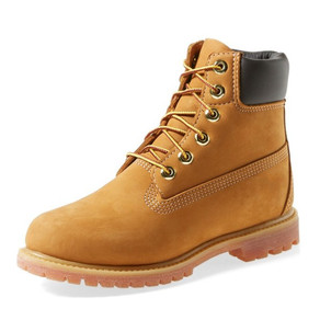 Mustard Flat Ankle Boots Round Toe Lace up Suede Women's Work Boots