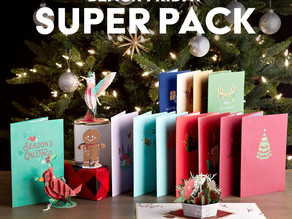 Best Selling Christmas Pop Up Cards & Décor