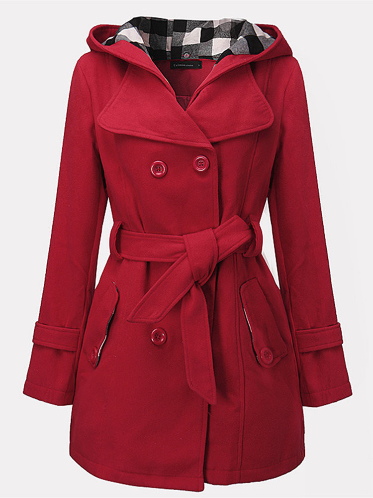 Hooded Coat Jackets