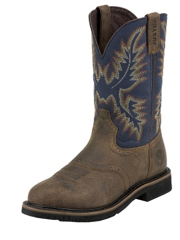 Justin Copper Kettle Rowdy Stampede Boot Sale