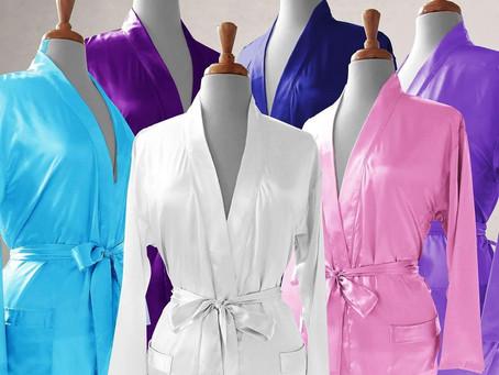 Amari Satin Kimono Robe