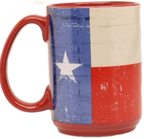Texas Ceramic Flag Mug