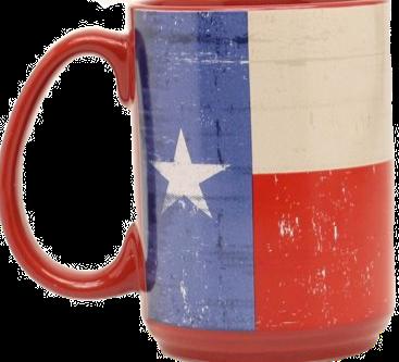 Texas Ceramic Flag Mug