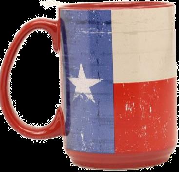 Texas Flag Coffee Mugs