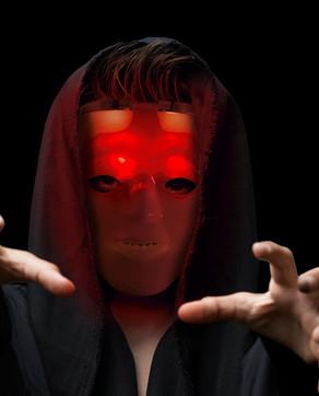 LED Hockey Skull Mask
