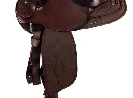 """15"""" to 17"""" South Bend Saddle Co Pawnee XL Haflinger Trail Saddle 2900"""