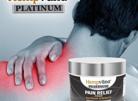 Hempvana Platinum Pain Relief Cream