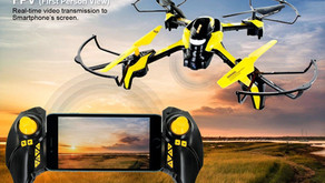 TDR Phoenix App Controlled WIFI FPV RC Drone Quadcopter with HD Camera 2.4G 6CH Collision Avoidance